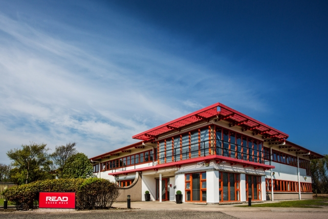 A commercial building photograph taken by Jonathan Addie, an Aberdeen based commercial photographer.