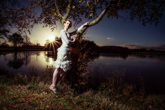 A commercial fashion photograph taken by Jonathan Addie, an Aberdeen based commercial fashion photographer