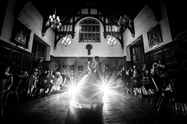 A first dance photograph taken at a wedding in london by Jonathan Addie, an Aberdeen based wedding photographer