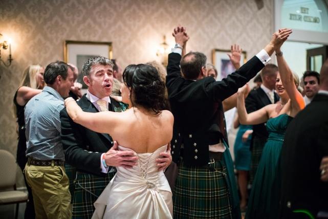 A dance photograph taken at a wedding in Aberdeen by Jonathan Addie, an Aberdeen based wedding photographer