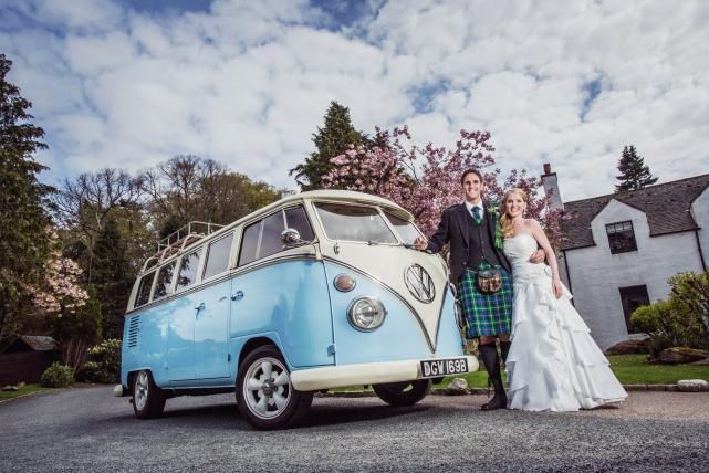 A couple photograph taken at a wedding in Aberdeen by Jonathan Addie, an Aberdeen based wedding photographer