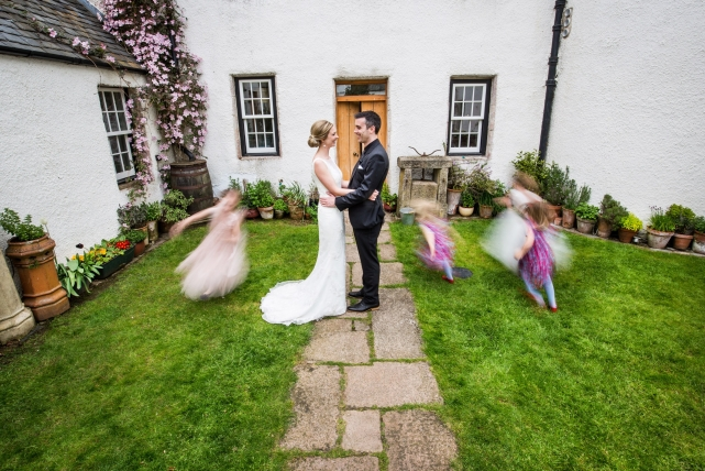 A couple photograph taken at Logie House in Aberdeenshire by Jonathan Addie, an Aberdeen based wedding photographer