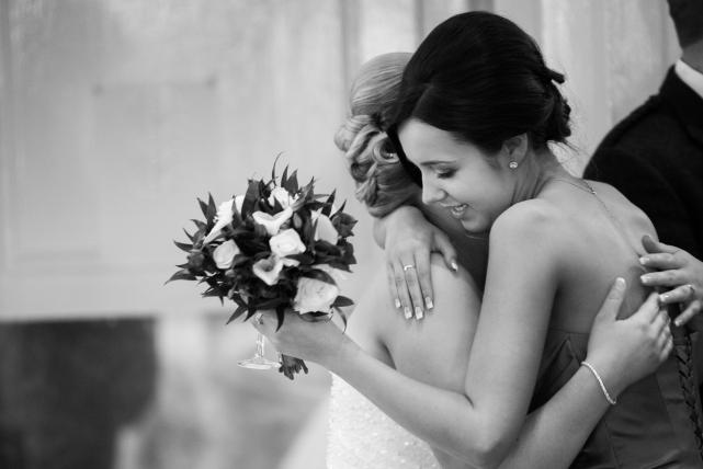 A candid photograph taken at a wedding in Aberdeen by Jonathan Addie, an Aberdeen wedding photographer