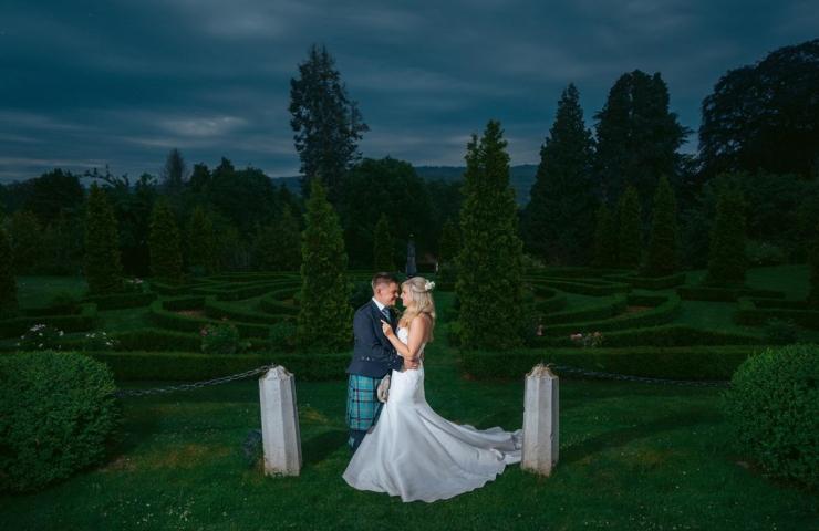 Emily and Ryan's amazing Achnagairn wedding