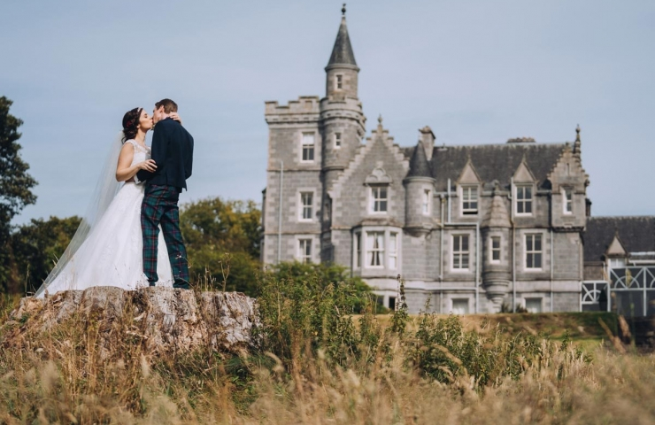 Stewart and Emma's Ardoe House Hotel wedding!