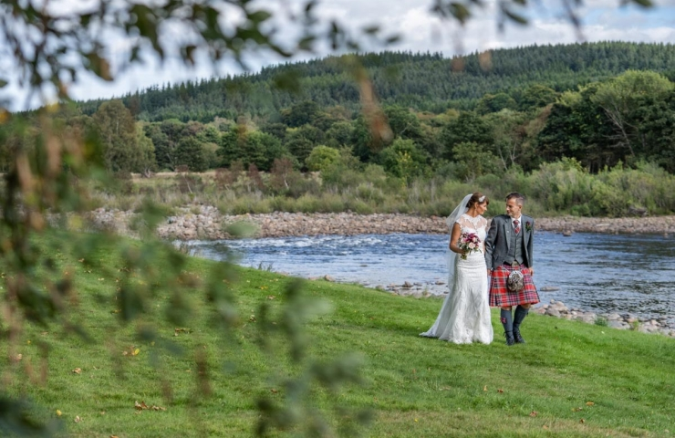 Banchory Lodge Summer Wedding 134
