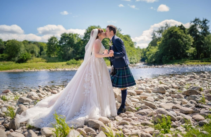 Steven and Claire's Banchory Lodge wedding!