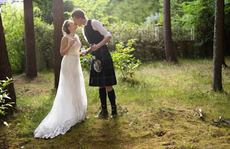 Andrew and Katie's Banchory Lodge wedding!