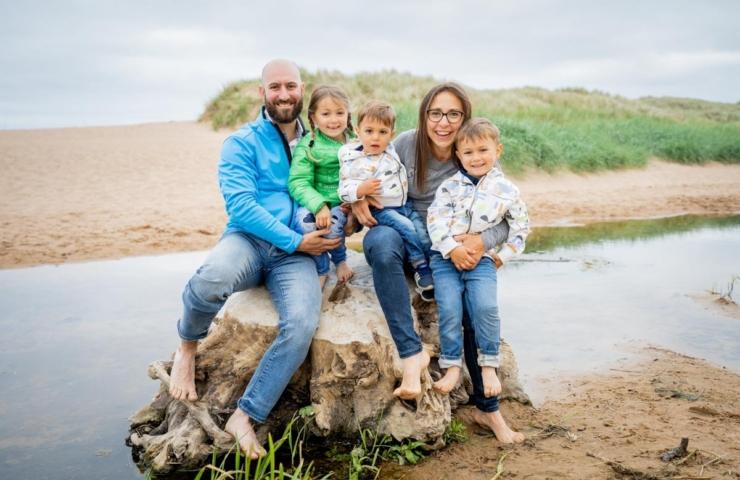 Beach family photo shoot!