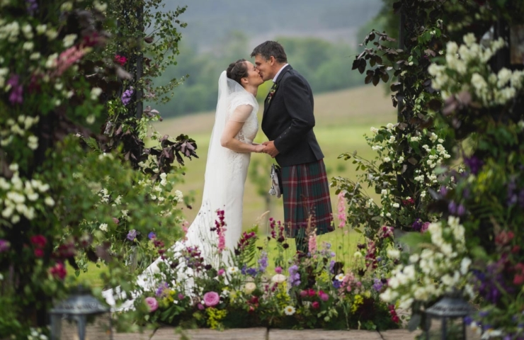 Scott & Esther's Pittodrie House Hotel wedding!