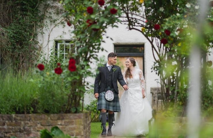 Roy and Hannah's Logie wedding!