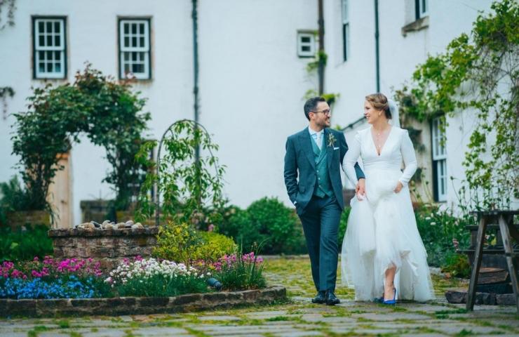 Aimee and David's Logie Country House wedding