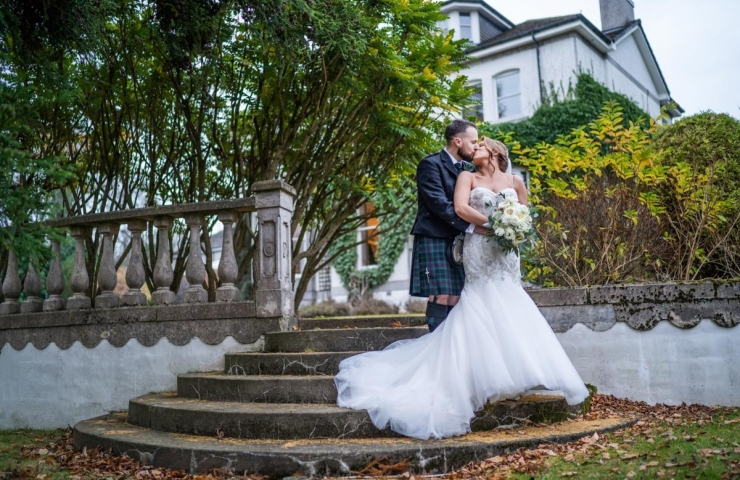 Chris and Natalie's Marcliffe wedding