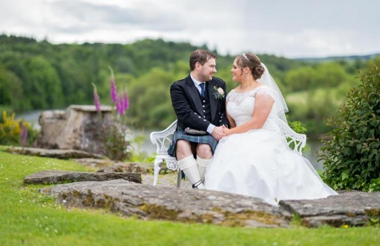 Craig and Meghan's Maryculter House Hotel wedding