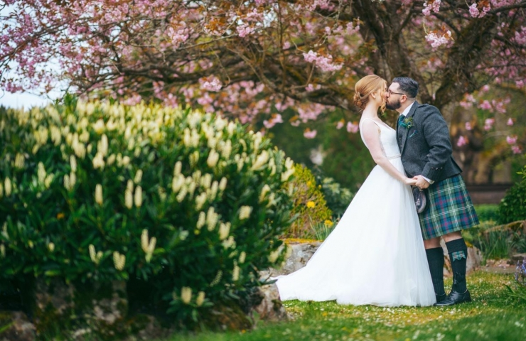 Dean and Helen's Maryculter House Hotel wedding
