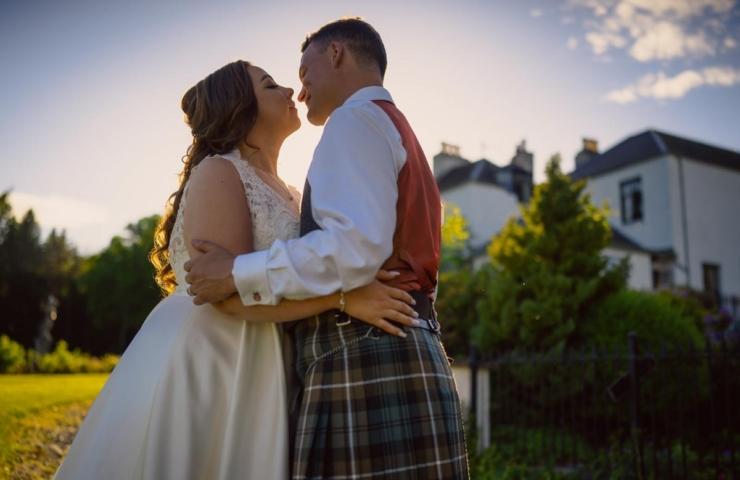 Peter and Nicola's Banchory Lodge wedding!