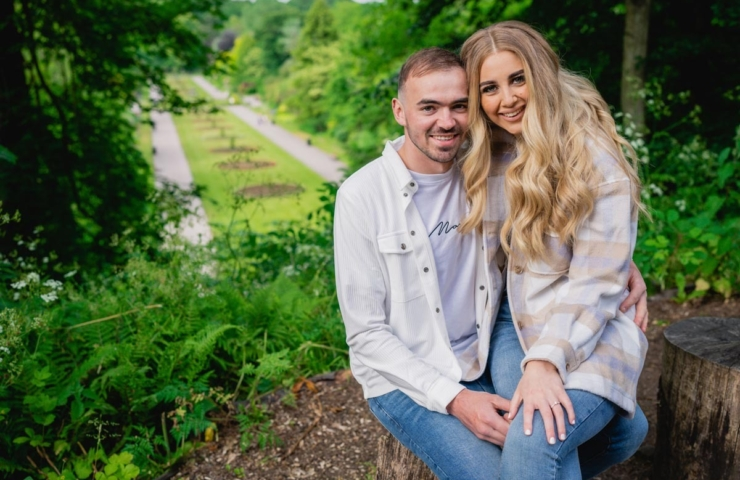 Victoria and Grant's Pre wedding photo shoot