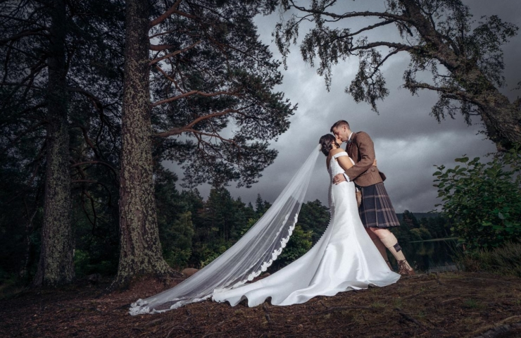 Ryan and Stephanie's Glen Tanar wedding