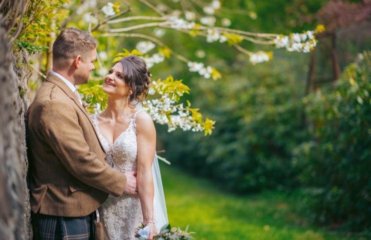 Graham and Elaine's Elsick House wedding.