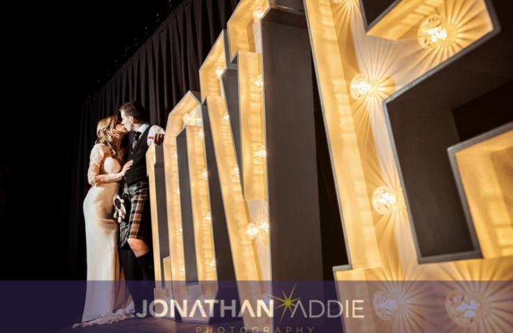 Michael & Stephanie's Woodend Barn wedding