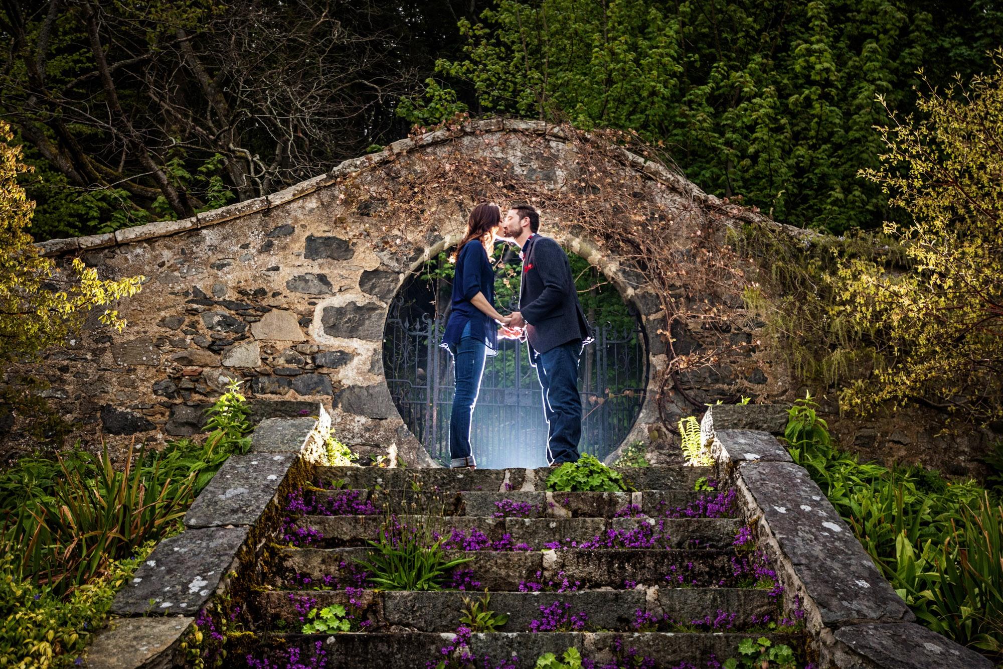 A pre wedding photograph taken at a wedding in Aberdeen by Jonathan Addie, an Aberdeen based wedding photographer